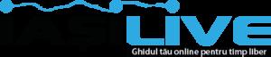 Logo Iasi Live background alb PNG