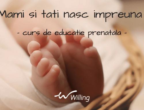 Mami si tati nasc impreuna – curs de educatie prenatala