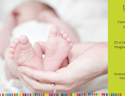 Curs de educatie prenatala 23-24 februarie 2019