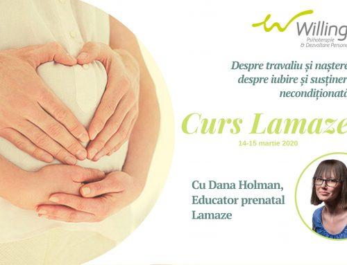 Curs Lamaze- 14-15 martie 2020