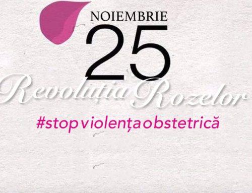 Revoluția rozelor – campanie împotriva violenței obstetrice