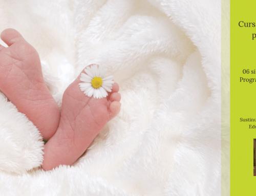 Curs de educație prenatală – filosofia nașterii: 06-07 aprilie 2019